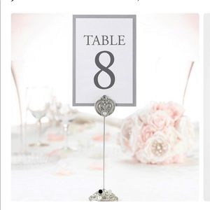 Lillian Rose Table Markers- 2 Packs of 4